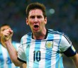 Argentina's Lionel Messi celebrates scoring a goal during the 2014 World Cup Group F soccer match against Bosnia and Herzegovina at the Maracana stadium in Rio de Janeiro
