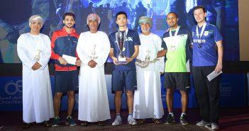 اكتسح منافسه في النهائي الأوكراني كو لي بطلا لبطولة«عمان فـــــايبر أوبتك» الدولية لكرة الطاولة