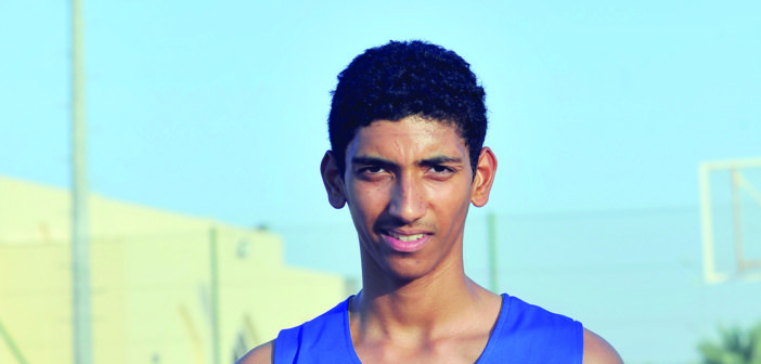 موهبة كرة السلة رشيد محمد الزهيبي: طموحاتي تمثيل المنتخب الوطني  وواثق من تطور اللعبة