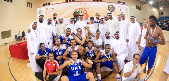 البطولة الخليجية 38 لكرة السلة: نزوى استضاف البطولة والشارقة الاماراتي أحرز لقبها
