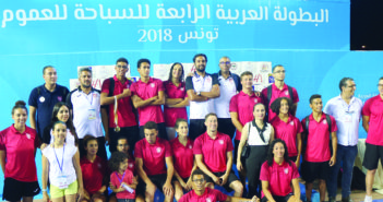 في البطولة العربية.. سباحونا خارج المنافسة ..و16 سباحا عربيا يتأهلون لأولمبياد الشباب