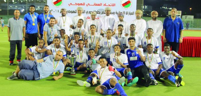 بعد مباراة ماراثونية هوكي النصر يحرز لقب دوري الشباب على حساب أهلي سداب