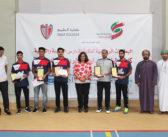 «المدرسة الهندية وبيكن هاوس» تفوزان ببطولة كلية الخليج للريشة الطائرة