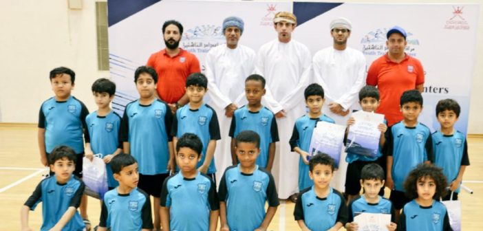 ختام مهرجانات إعداد الناشئين في السباحة والكرة الطائرة